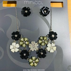 Necklace earring set 2 jewellery for only ⭐️$14